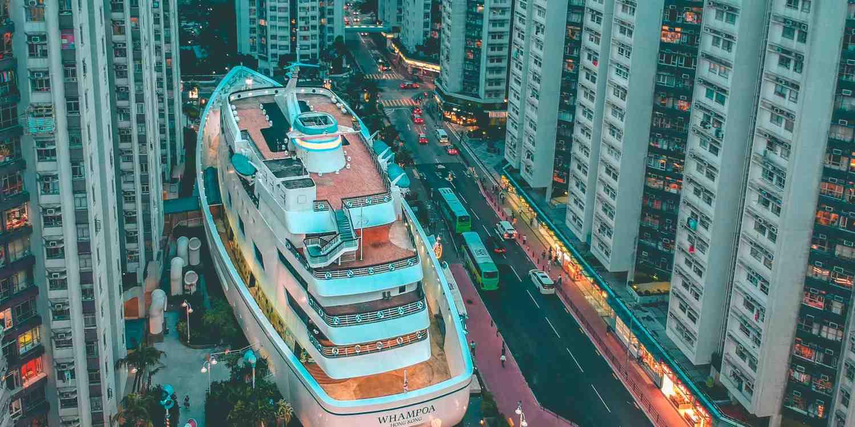 Background image of Hong Kong