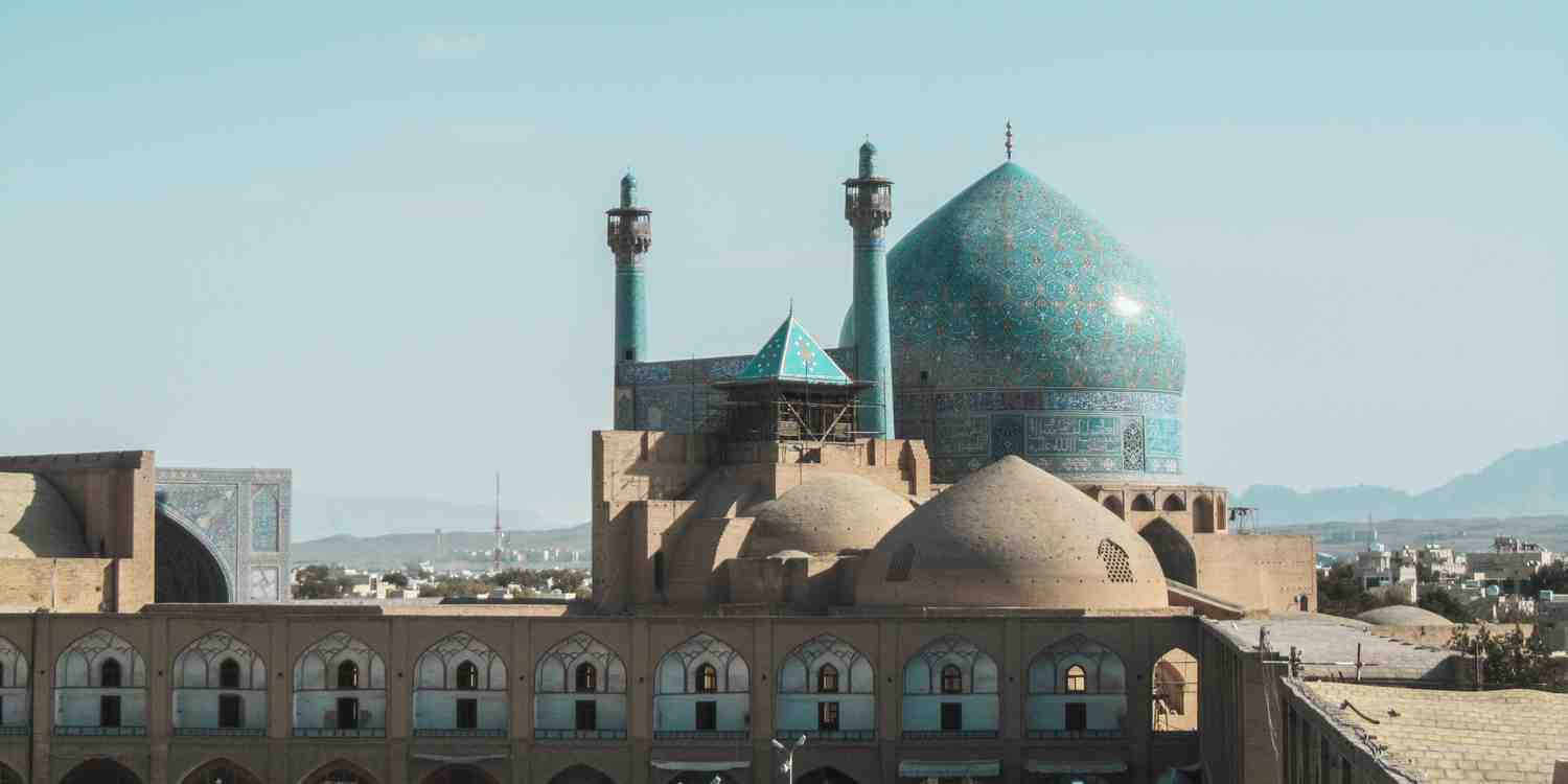 Background image of Isfahan