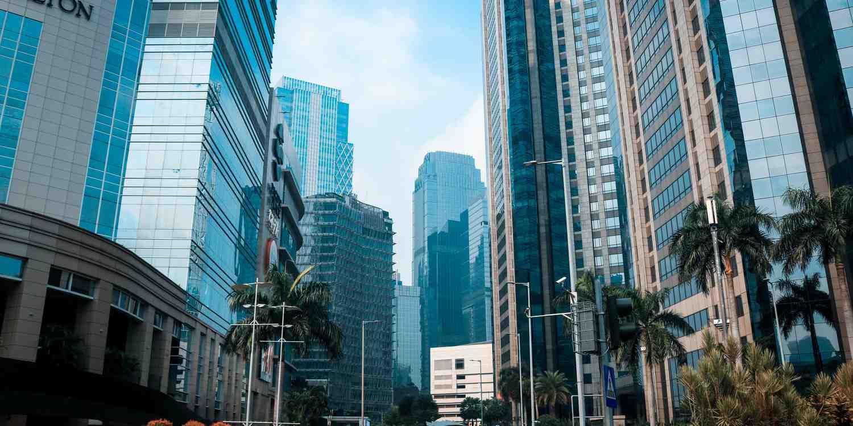 Background image of Jakarta