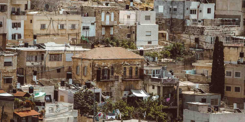 Background image of Jerusalem