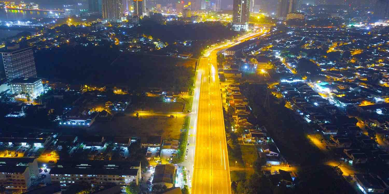 Background image of Johor Bahru