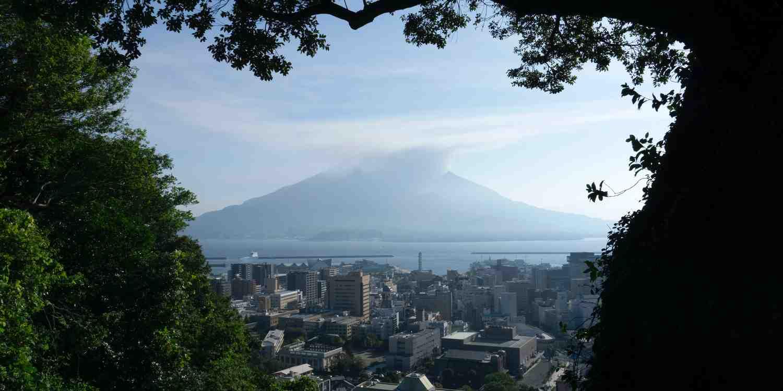Background image of Kagoshima