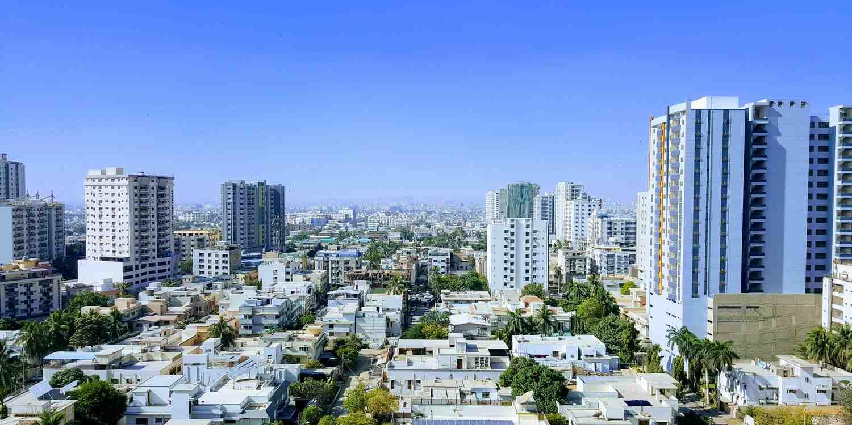 Background image of Karachi