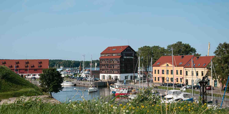 Background image of Klaipeda