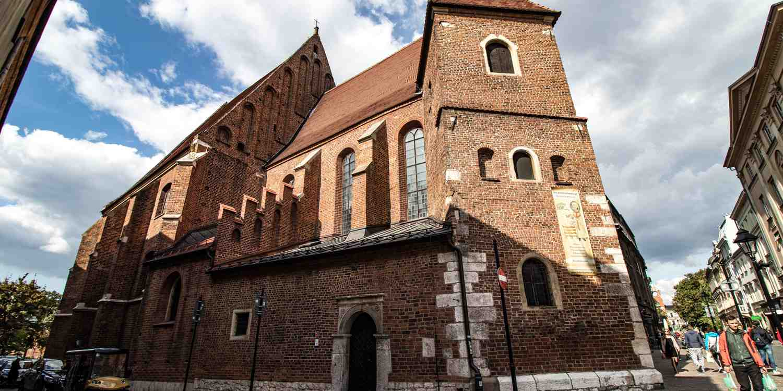 Background image of Kraków