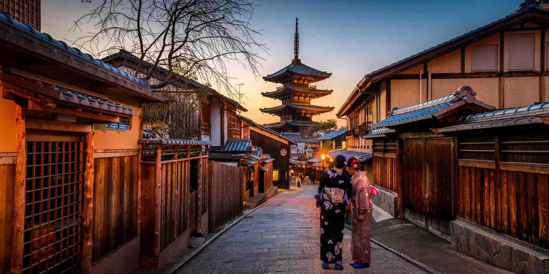Background image of Kyoto