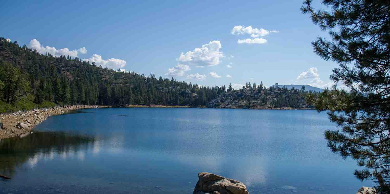 Background image of Lake Tahoe