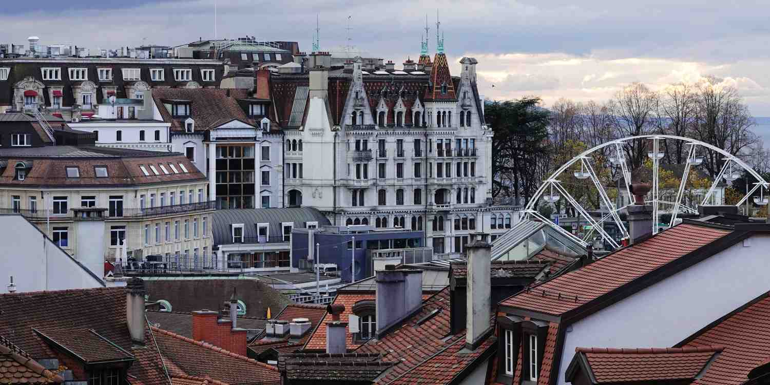 Background image of Lausanne