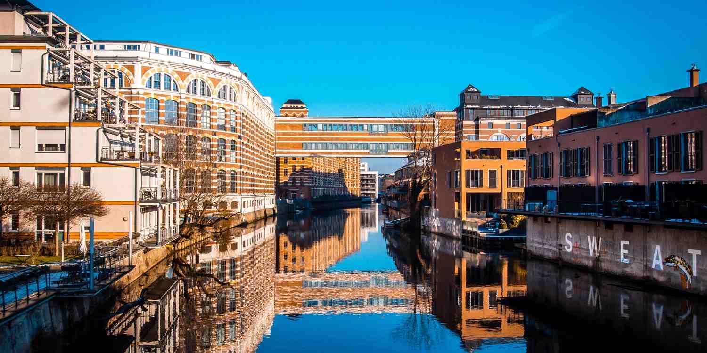 Background image of Leipzig