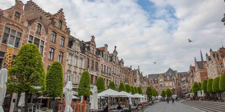Background image of Leuven