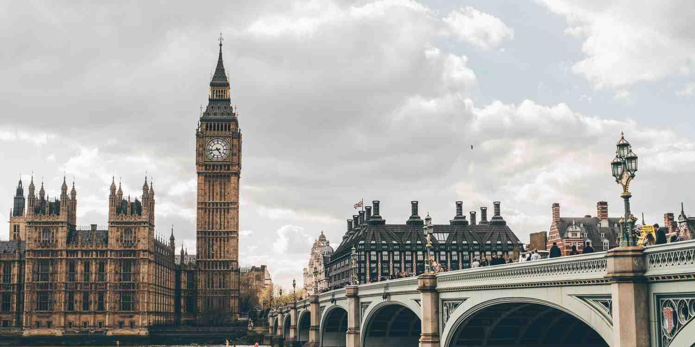 Background image of London