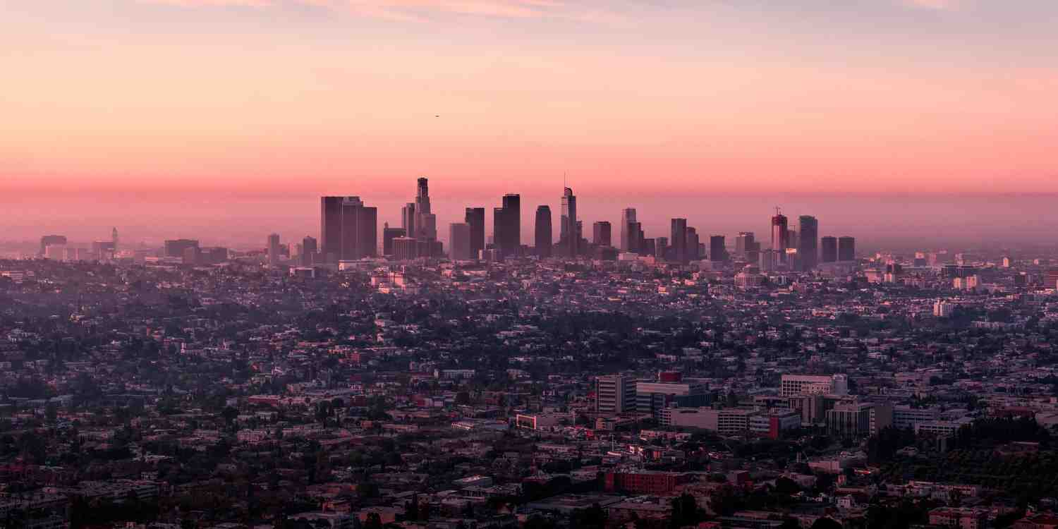 Background image of Los Angeles