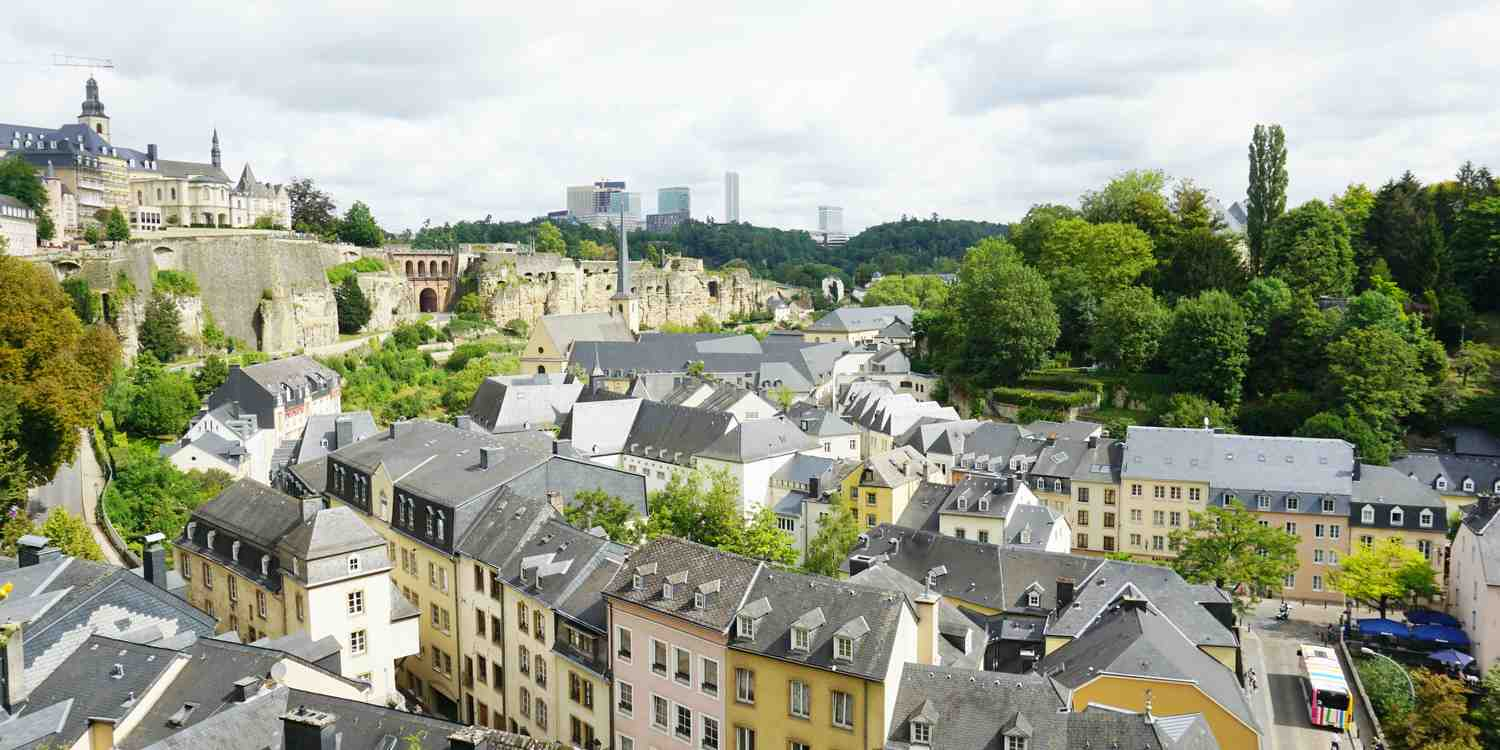 Background image of Luxembourg