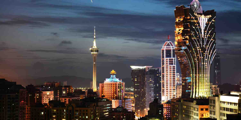 Background image of Macau