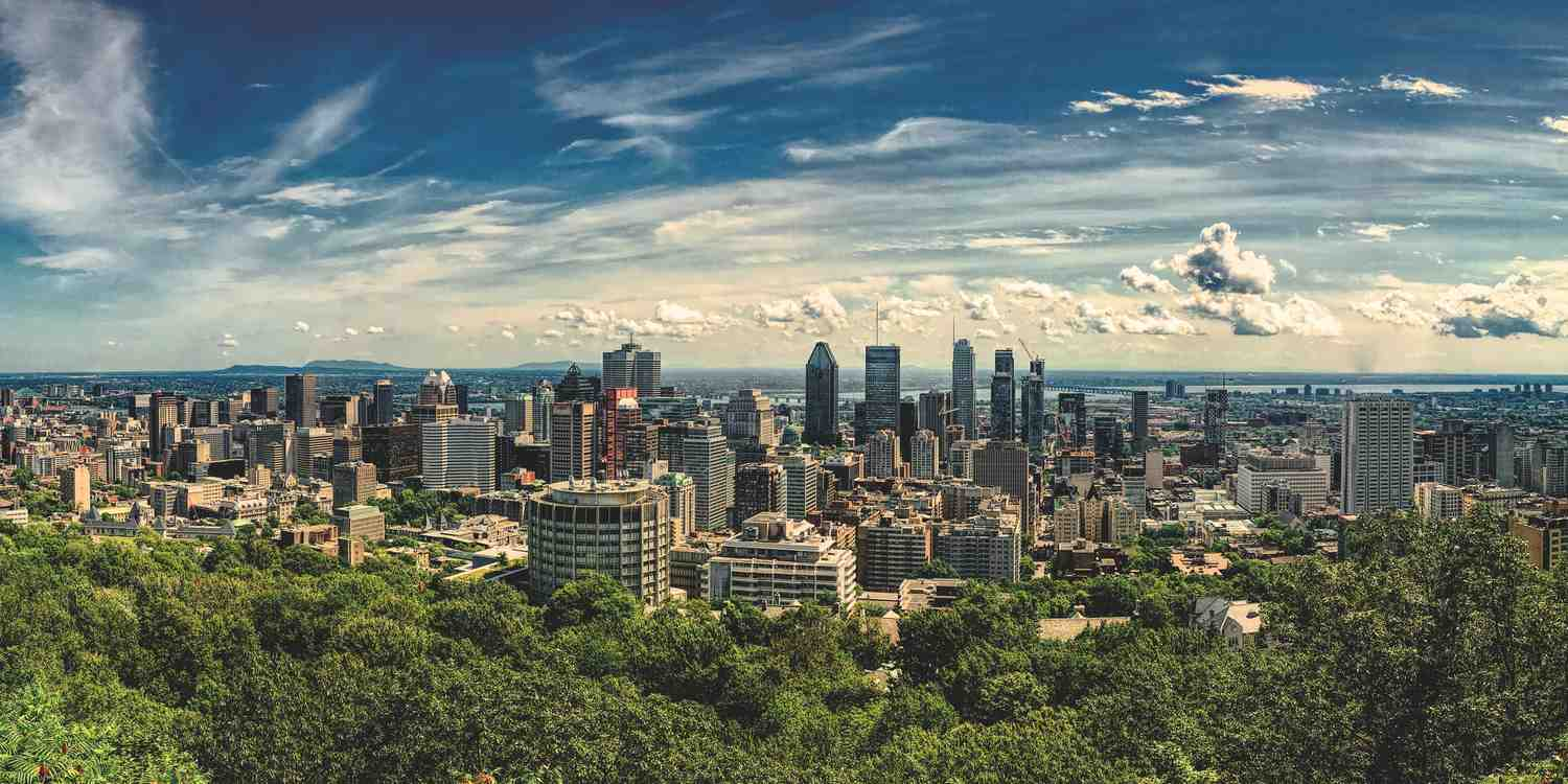 Background image of Montreal