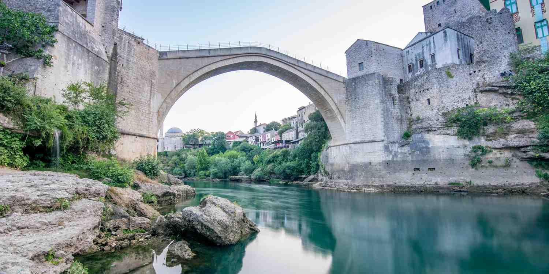 Background image of Mostar