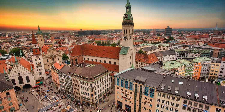 Background image of Munich