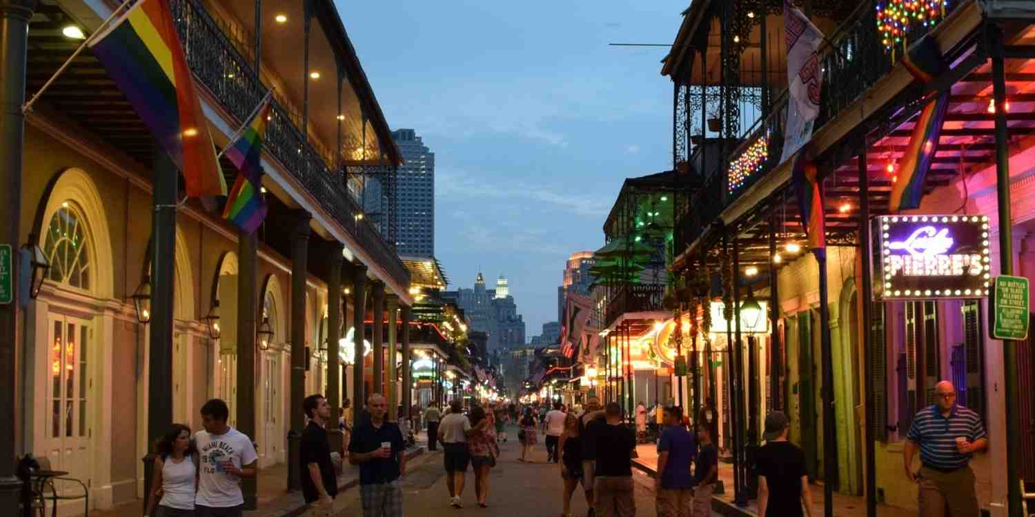 Background image of New Orleans