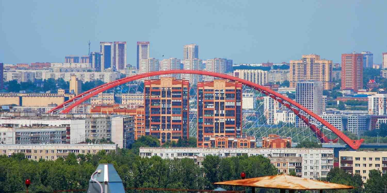 Background image of Novosibirsk