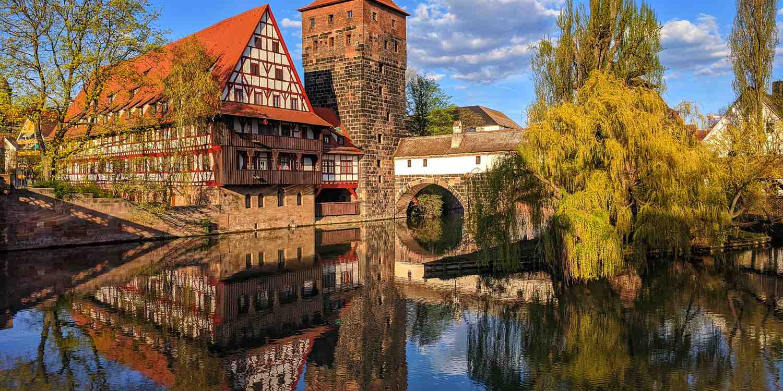 Background image of Nuremberg