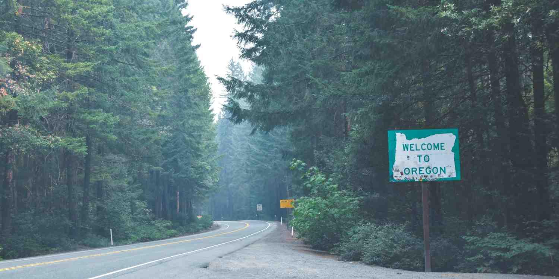 Background image of Oregon City