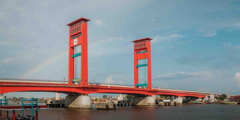 Background image of Palembang