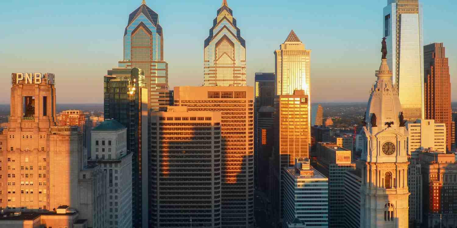 Background image of Philadelphia