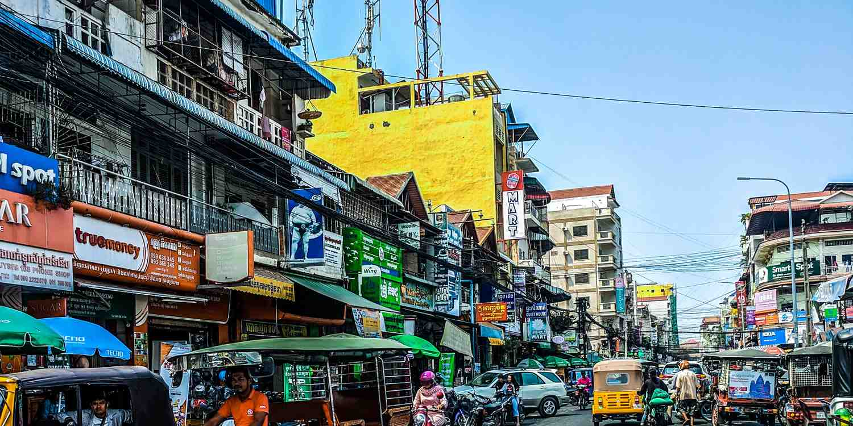 Background image of Phnom Penh
