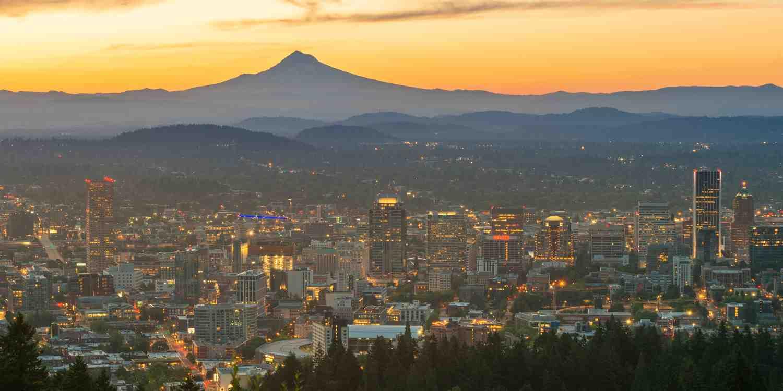 Background image of Portland