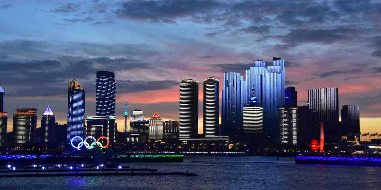 Background image of Qingdao