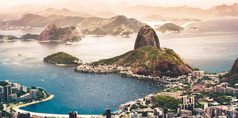 Background image of Rio de Janeiro