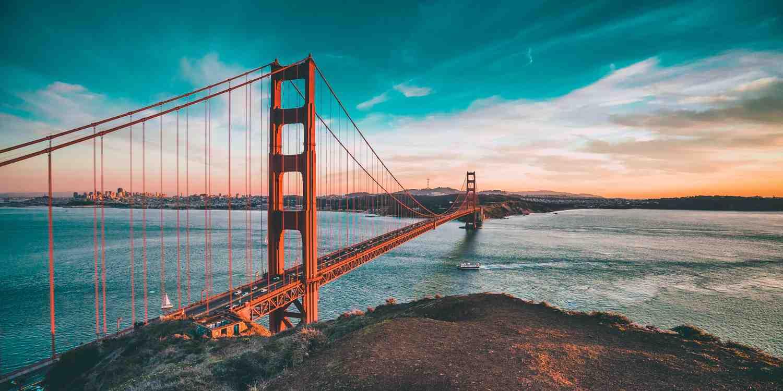 Background image of San Francisco