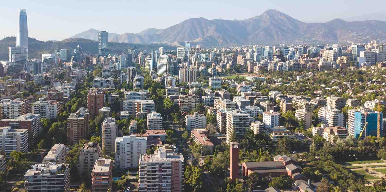 Background image of Santiago