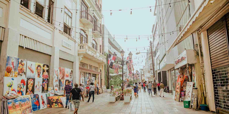 Background image of Santo Domingo