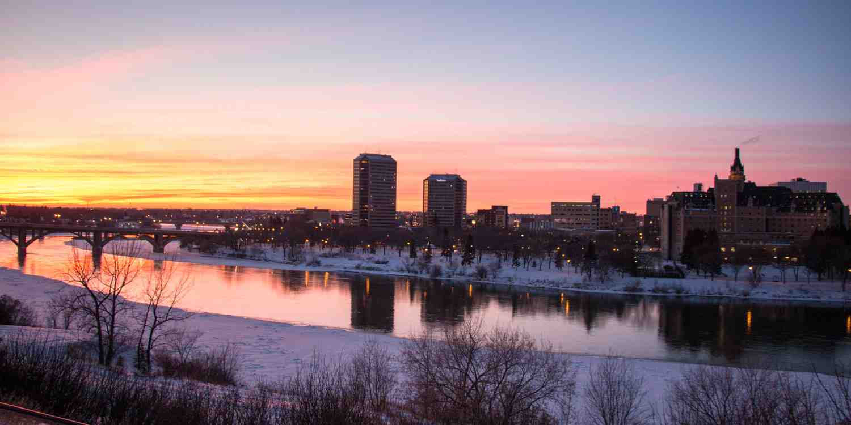 Background image of Saskatoon