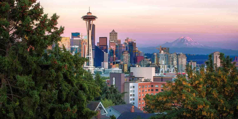 Background image of Seattle