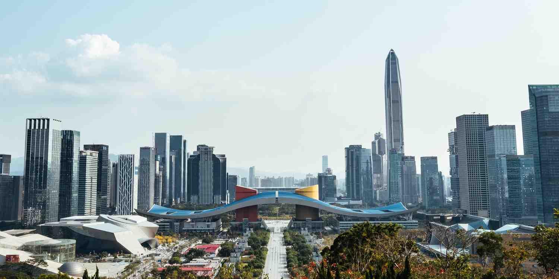 Background image of Shenzhen