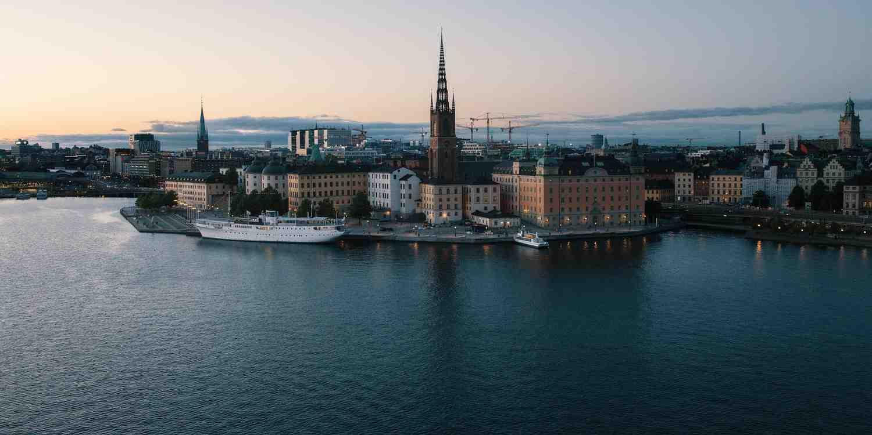 Background image of Stockholm