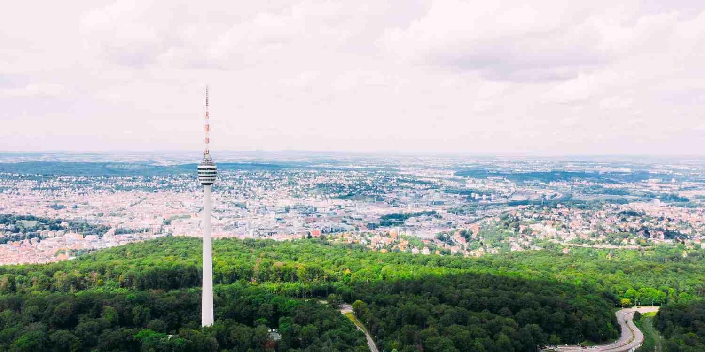 Background image of Stuttgart