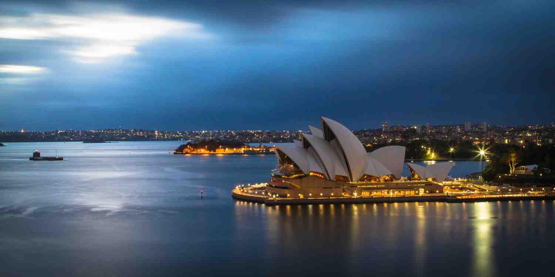 Background image of Sydney