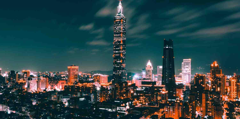 Background image of Taipei