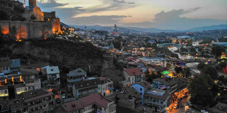 Background image of Tbilisi