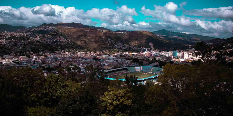Background image of Tegucigalpa