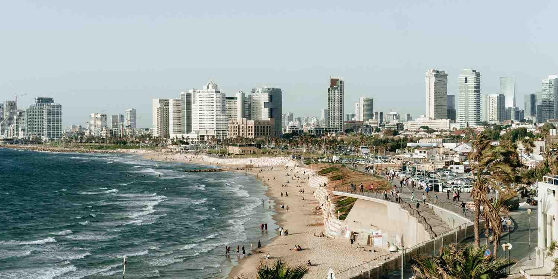 Background image of Tel Aviv