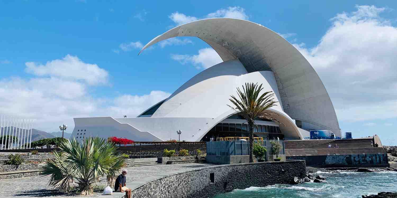 Background image of Tenerife