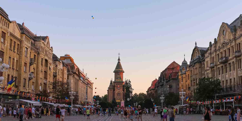 Background image of Timisoara