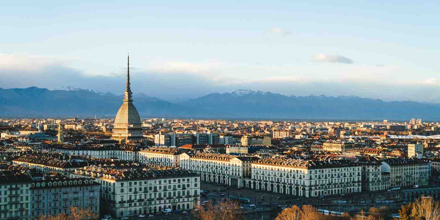 Background image of Turin