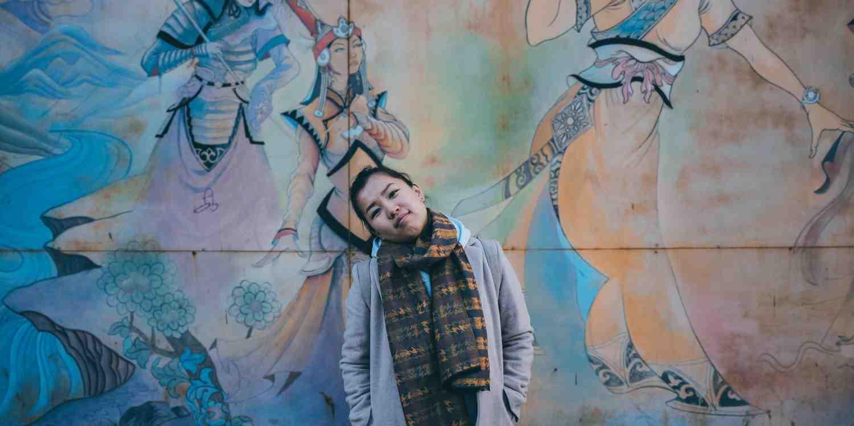 Background image of Ulaanbaatar