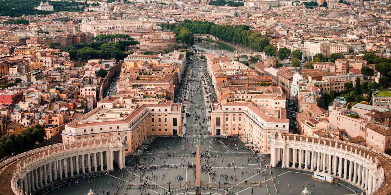 Background image of Vatican City
