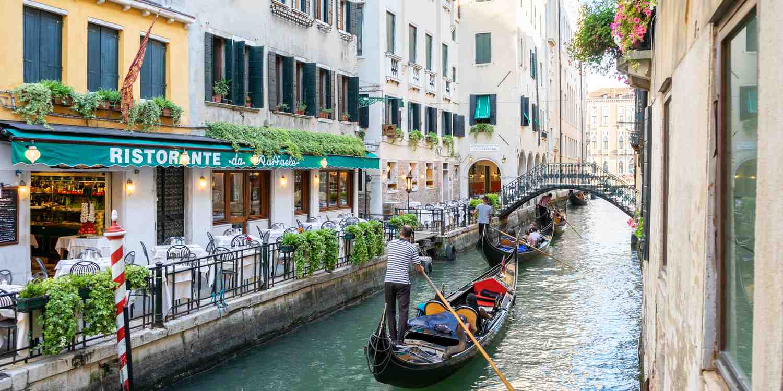 Background image of Venice